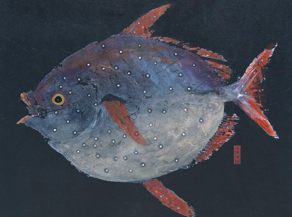 Reel dreams fish prints fish rubbings for Dream about fish
